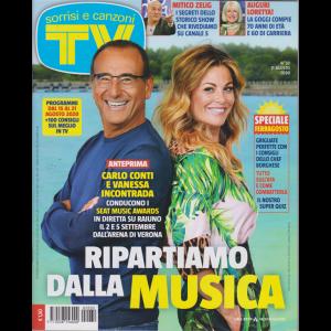 Sorrisi e Canzoni Tv - n. 32 - settimanale - 11 agosto 2020
