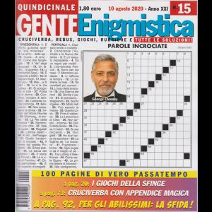 Gente Enigmistica - n. 15 - 10 agosto 2020 - quindicinale - 100 pagine di vero passatempo