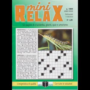 Mini Relax - n. 1994 - settimanale - 11/8/2020 -