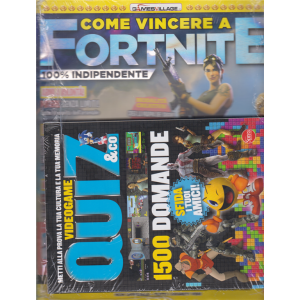 Come Vincere a Fortnite - + Quiz & Co. videogame - n. 2 - bimestrale - agosto - settembre 2020 - 2 riviste