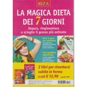 Salute naturale extra - n. 134 - agosto - settembre 2020 - + Il peso perfetto - 2 riviste