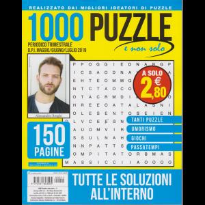 1000 Puzzle E Non Solo - n. 11 - trimestrale - maggio/giugno/luglio 2019 - 150 pagine