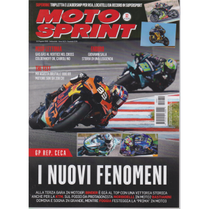 Motosprint - n. 32 - 11/17 agosto 2020 - settimanale