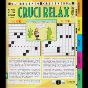 Cruci Relax - n. 195 - mensile - 12/8/2020 - oltre 100 cruciverba