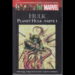 Graphic Novel Marvel - Hulk - Planet Hulk - parte 1 - n. 52 - 8/8/2020 - quattordicinale - copertina rigida