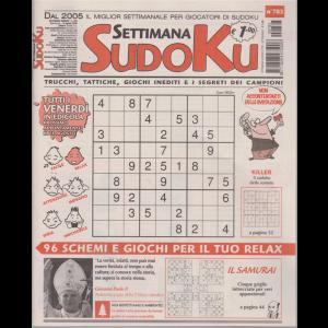 Settimana Sudoku - n. 783 - settimanale - 14 agosto 2020