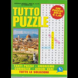Tutto Puzzle - n. 472 - mensile - settembre 2020 - 100 pagine