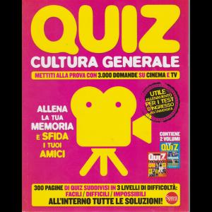 Quiz  cultura generale - n. 1 - bimestrale - agosto - settembre 2020 -