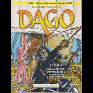 Nuovifumetti Dago - n. 285-  I ribelli della Napoli sotterranea - 14 agosto 2020 - mensile