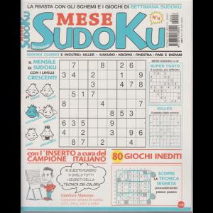 Settimana Sudoku Mese - n. 18 - mensile - 13/8/2020 -