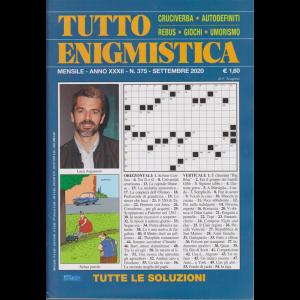 Tutto Enigmistica - n. 375 - mensile - settembre 2020