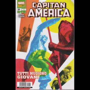 Capitan America -n. 125 - Tutti muoiono giovani - mensile - 13 agosto 2020