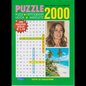 Puzzle 2000 - n. 353 - mensile - settembre 2020 - 100 pagine
