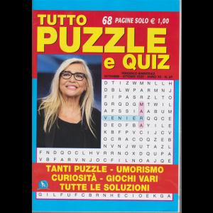 Tutto Puzzle e Quiz - n. 69 - bimestrale - settembre - ottobre 2020 - 68 pagine