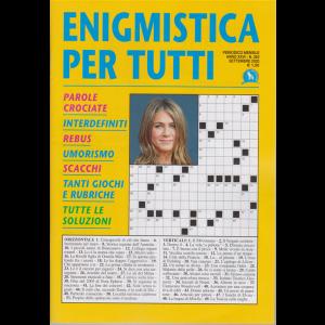 Enigmistica per tutti - n. 263 - mensile - settembre 2020 -