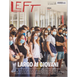 Left Avvenimenti - n. 33 - 14 agosto 2020 - 20 agosto 2020 - settimanale