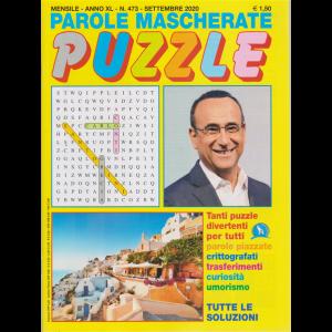 Parole Mascherate puzzle - n. 473 - mensile - settembre 2020