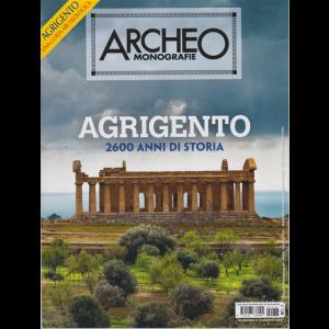 Archeo Monografie - Agrigento 2600 anni di storia - n. 38 - agosto - settembre 2020 - bimestrale