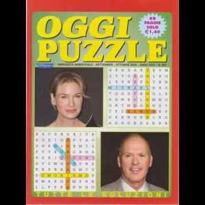 Oggi Puzzle - n. 267 - bimestrale - settembre - ottobre 2020 - 68 pagine
