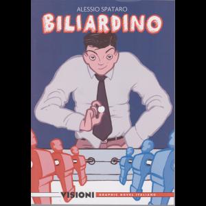 Graphic Novel Italia  - Visioni - Biliardino - di Alessio Spataro - n. 16 - settimanale -