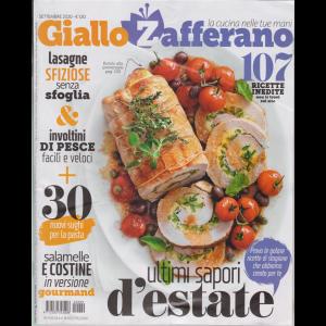 Giallo Zafferano - n. 9 - settembre 2020 - mensile