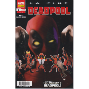 Deadpool : La fine - n. 154 - L'ultima storia di Deadpool! - bimestrale - 13 agosto 2020