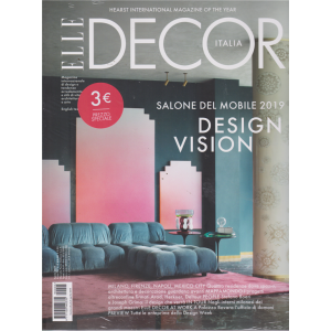 Elle Decor - n. 4 - aprile 2019 - mensile