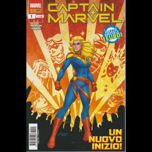 Captain Marvel - n. 1 - 11 aprile 2019 - mensile Un nuovo inizio!