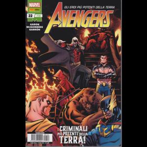 Avengers - n. 126 - mensile - 13 agosto 2020 - I criminali più potenti della terra!