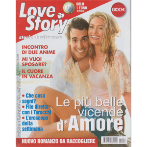 Love Story - n. 33 - settimanale - 25 agosto 2020 -