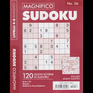 Magnifico Sudoku - n. 56 - bimestrale - livelli 4-5 avanzato -