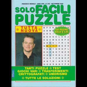 Solo Facili Puzzle - n. 202 - mensile - settembre 2020 - 100 pagine