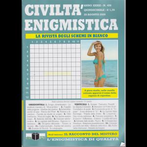 Civilta' Enigmistica - n. 426 - quindicinale - 20 agosto 2020