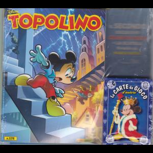 Topolino + il secondo esclusivo mazzo di carte + la scatola firmato da Marco Rota! - n. 3378 - settimanale - 19 agosto 2020 -