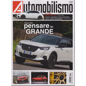 Automobilismo - n. 9 - mensile - agosto - settembre 2020
