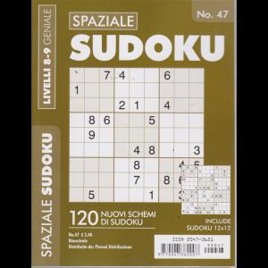 Spaziale Sudoku - n. 47 - bimestrale - 120 nuovi schemi di sudoku