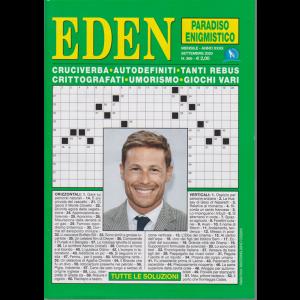Eden - Paradiso enigmistico - n. 366 - mensile - settembre 2020 -