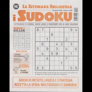 La settimana enigmistica - I sudoku - n. 109 - 20 agosto 2020 - settimanale
