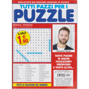 Tutti pazzi per i puzzle - n. 13 - bimestrale - agosto - settembre 2020