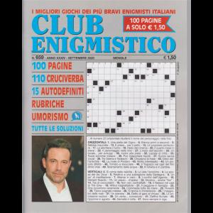 Club Enigmistico - n. 659 - settembre 2020 - mensile - 100 pagine
