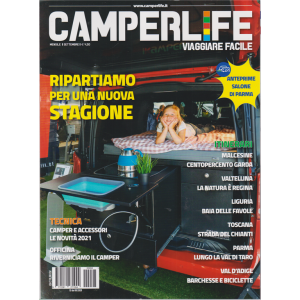 Camperlife - n. 93 - mensile - settembre 2020