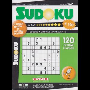 Sudoku - n. 162 - mensile - settembre 2020 -