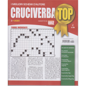 Abbonamento Cruciverba Top (cartaceo trimestrale)