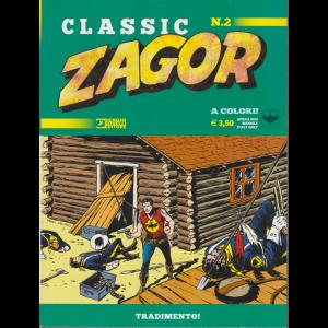 Zagor Classic - Tradimento! - n. 2 - aprile 2019 - mensile
