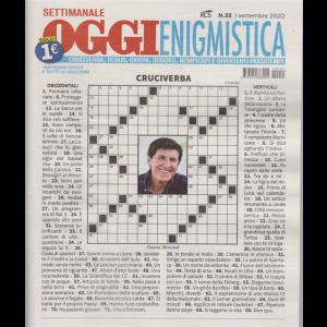 Settimanale Oggi Enigmistica - n. 35 - settimanale - 1 settembre 2020