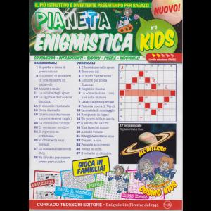 Pianeta enigmistica kids - n. 3 - settembre - ottobre 2020 -