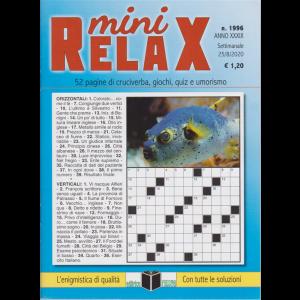 Mini Relax - n. 1996 - settimanale - 25/8/2020
