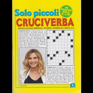 Solo Piccoli Cruciverba - n. 97 - trimestrale - settembre - novembre 2020 - 68 pagine