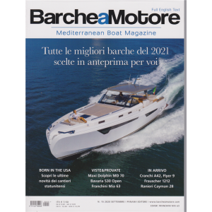 Barche a Motore - n. 15 - settembre 2020 -