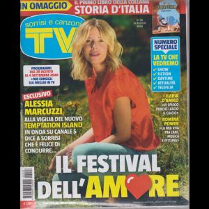 Sorrisi e Canzoni Tv - n. 34 - 25 agosto 2020 - settimanale - + Storia d'Italia - I primi italiani - rivista + libro